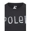POLER Furry Font Tee Men black